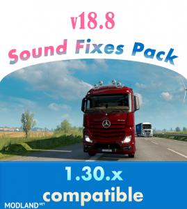 Sound Fixes Pack v 18.8, 1 photo