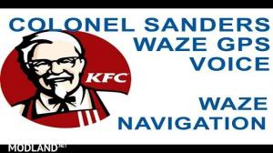 KFC Colonel Voice For GPS, 1 photo