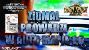 Polish Voic Ziomal Prowadzi W Auto Mapie v 1.0