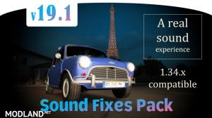 Sound Fixes Pack v19.1 ETS2 1.34, 1 photo
