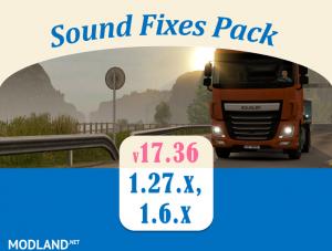 Sound Fixes Pack v 17.36, 1 photo
