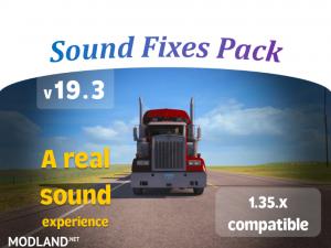 Sound Fixes Pack v19.3 1.35, 1 photo
