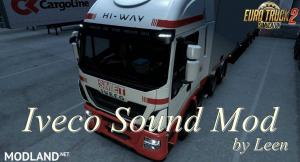 Iveco Sound Mod by Leen 1.35.x, 1 photo