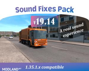 Sound Fixes Pack v19.14 1.35, 1 photo