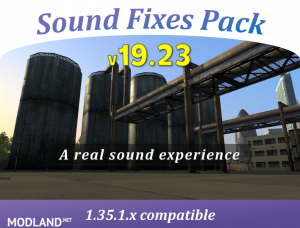 Sound Fixes Pack v19.23 [1.35], 1 photo