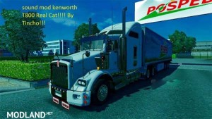 Kenworth T800 sounds