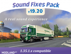 Sound Fixes Pack v19.20 1.35, 1 photo