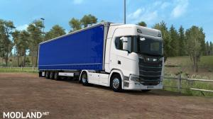 Scania NG Stock v8 Sound updated to 1.2, 1 photo