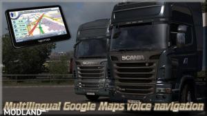 Multilingual Google Maps voice navigation 1.35.x, 1 photo