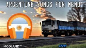 Argentine songs for menu v 1.5
