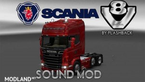 Scania V8 sound version 2.0