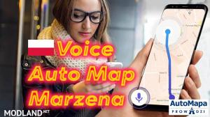 Auto Map Voice Marzena