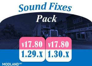 Sound Fixes Pack v17.80 1.30, 2 photo