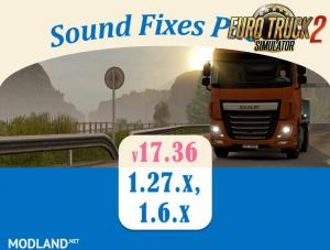 Sound Fixes Pack v 17.36.1 for ETS, 1 photo