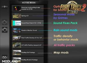 Sound Fixes Pack v 17.36.1 for ETS, 3 photo