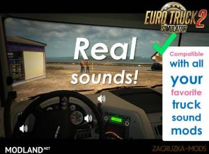 Sound Fixes Pack v 17.36.1 for ETS, 2 photo