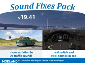 Sound Fixes Pack v19.41