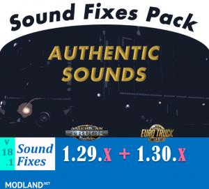 Sound Fixes Pack v 18.1, 1 photo