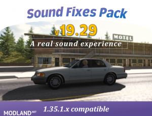 Sound Fixes Pack v19.29