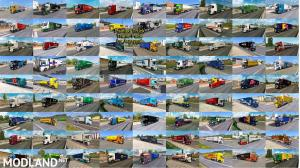 Painted Truck Traffic Pack by Jazzycat v8.1, 2 photo
