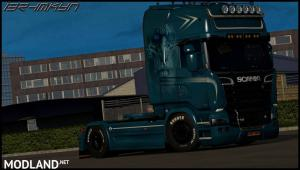 Scania White Walkers Skin By ibrhmkyn V1.0, 2 photo