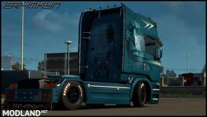 Scania White Walkers Skin By ibrhmkyn V1.0, 1 photo