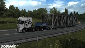 Mercedes Actros MP4 Reworked v2.1 [Schumi] [1.37], 3 photo