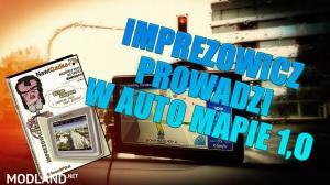 POLISH VOICE IMPREZOWICZ PROWADZI W AUTO MAPIE v 1.0, 1 photo