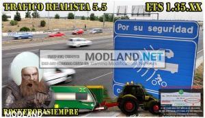 Realistic traffic 5.5 by Rockeropasiempre for v 1.35.x, 1 photo