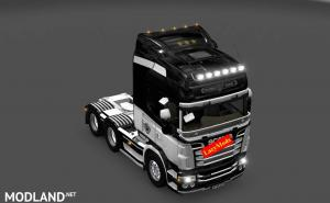 Scania RJL V8 Juventus [LazyMods] , 1 photo