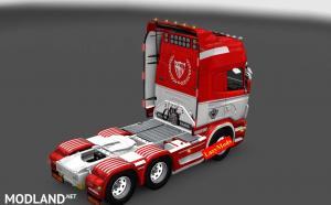 Scania RJL V8 Sevilla FC [LazyMods] , 2 photo