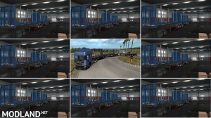 LOG TRAILER ROAD TRAIN [MP-SP] [Multiplayer] [TruckersMP], 2 photo
