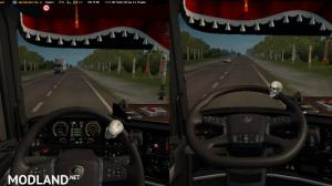 Animation and steering wheel from Scania 2016 for Scania RS by RJL, 1 photo