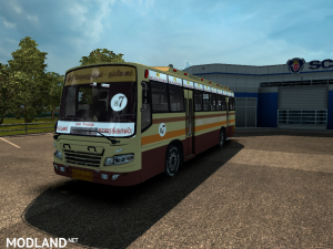 TAMILNADU TOWN BUS SKIN FOR MARUTI BUS V2 , 1 photo