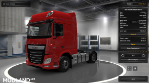 Daf XF Euro 6 750hp (SP/MP)
