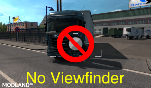 No viewfinder for ETS 2 1.35 versions, 1 photo