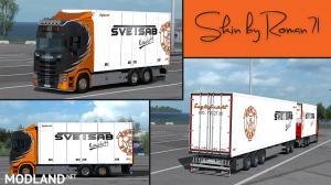 Scania NG S Englafrakt skin