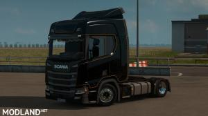 Low deck chassis addon for Scania S, R & P Nextgen by Sogard3 v 1.5, 2 photo