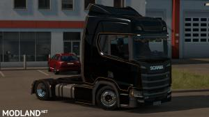 Low deck chassis addon for Scania S, R & P Nextgen by Sogard3 v 1.5, 3 photo