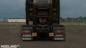 Low deck chassis addon for Scania S, R & P Nextgen by Sogard3 v 1.5, 1 photo