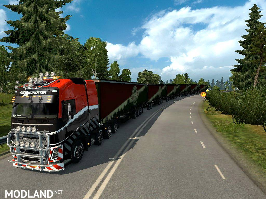 road trains v mod for ets 2. Black Bedroom Furniture Sets. Home Design Ideas
