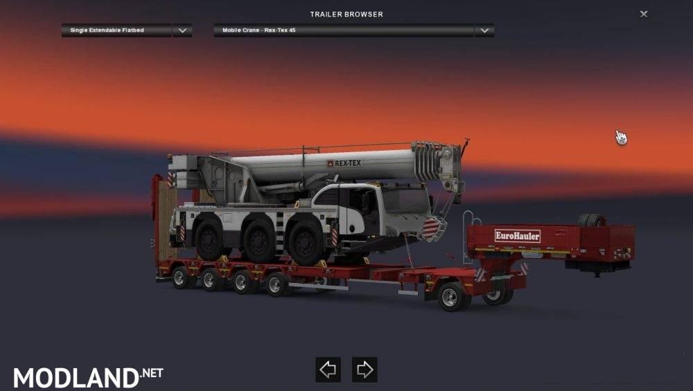 dlc heavy cargo pack mod for ets 2. Black Bedroom Furniture Sets. Home Design Ideas