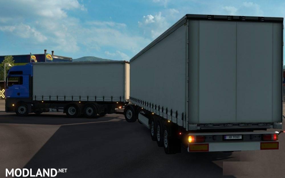 Gigaliner for BDF Trucks mod for ETS 2