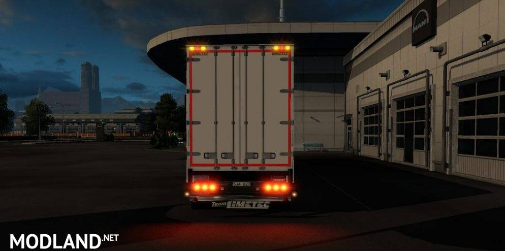 Limetec Trailer Light Corrected Mod For Ets 2