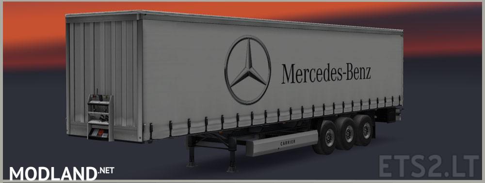 Mercedes Benz trailer by David mod for ETS 2