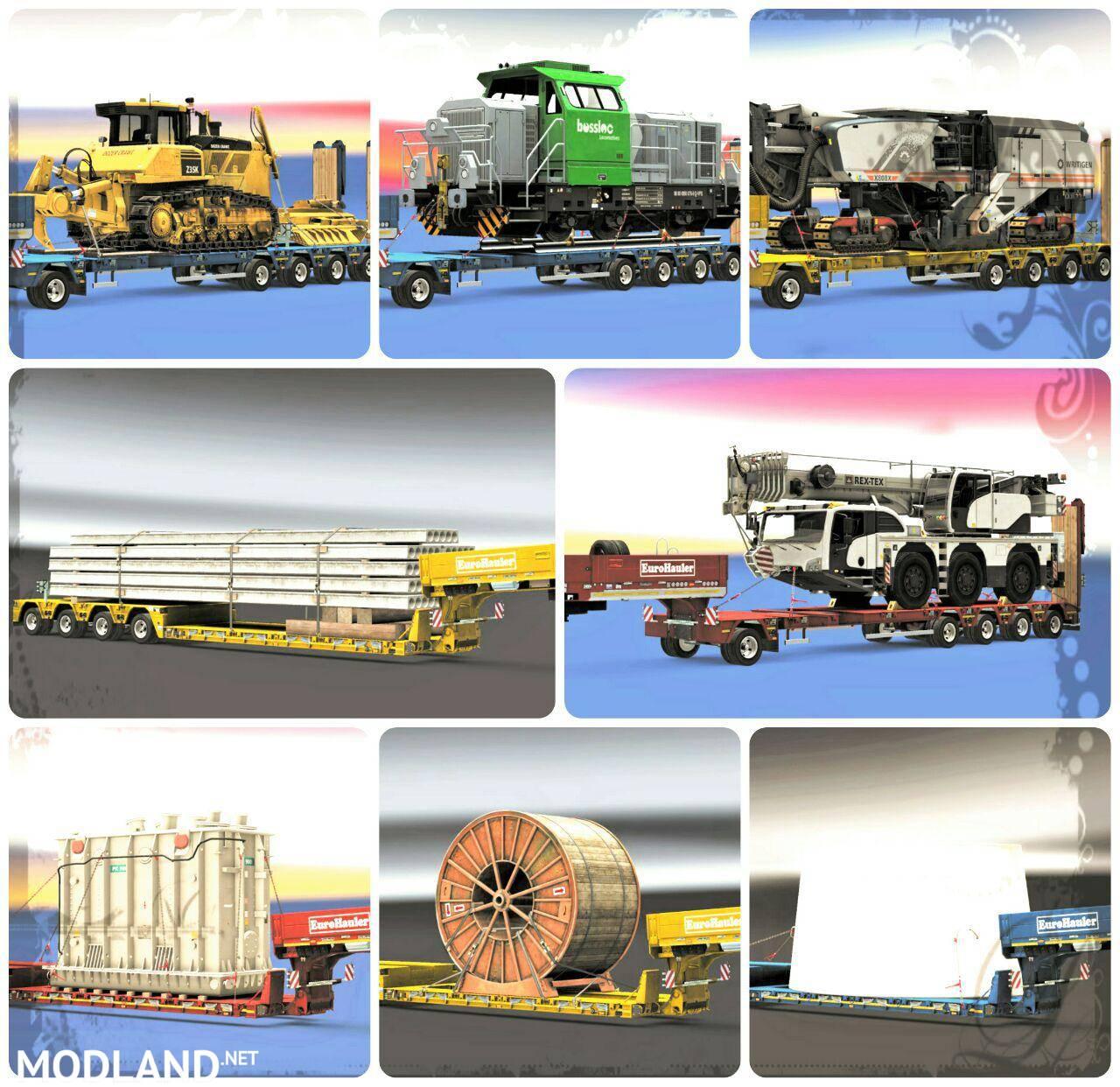 increasing mass trailer heavy cargo for multiplayer mod. Black Bedroom Furniture Sets. Home Design Ideas