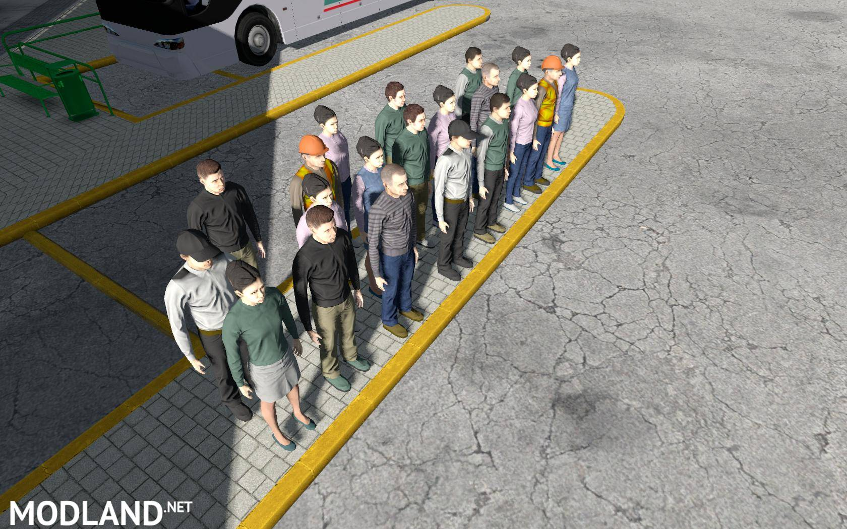 Passenger Mod v1 0 (1 28, 1 30) mod for ETS 2