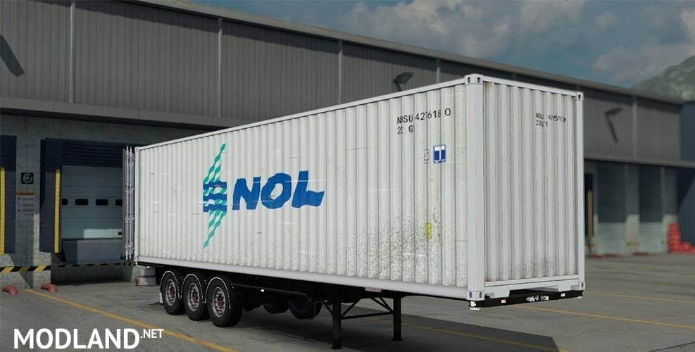 container mod for ets 2
