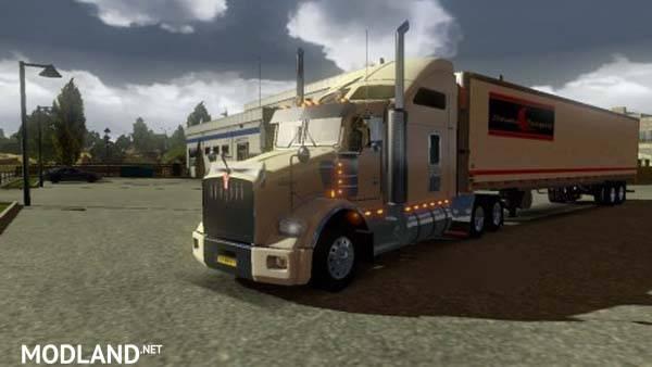 Dc Stevens Transport Trailer Skin Mod For Ets 2