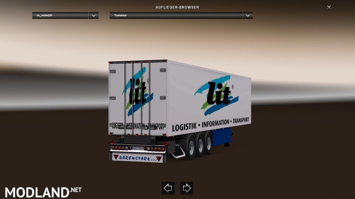 trailer pack coolliner by news vs update mod. Black Bedroom Furniture Sets. Home Design Ideas